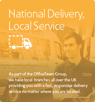 National Delivery. Local Service